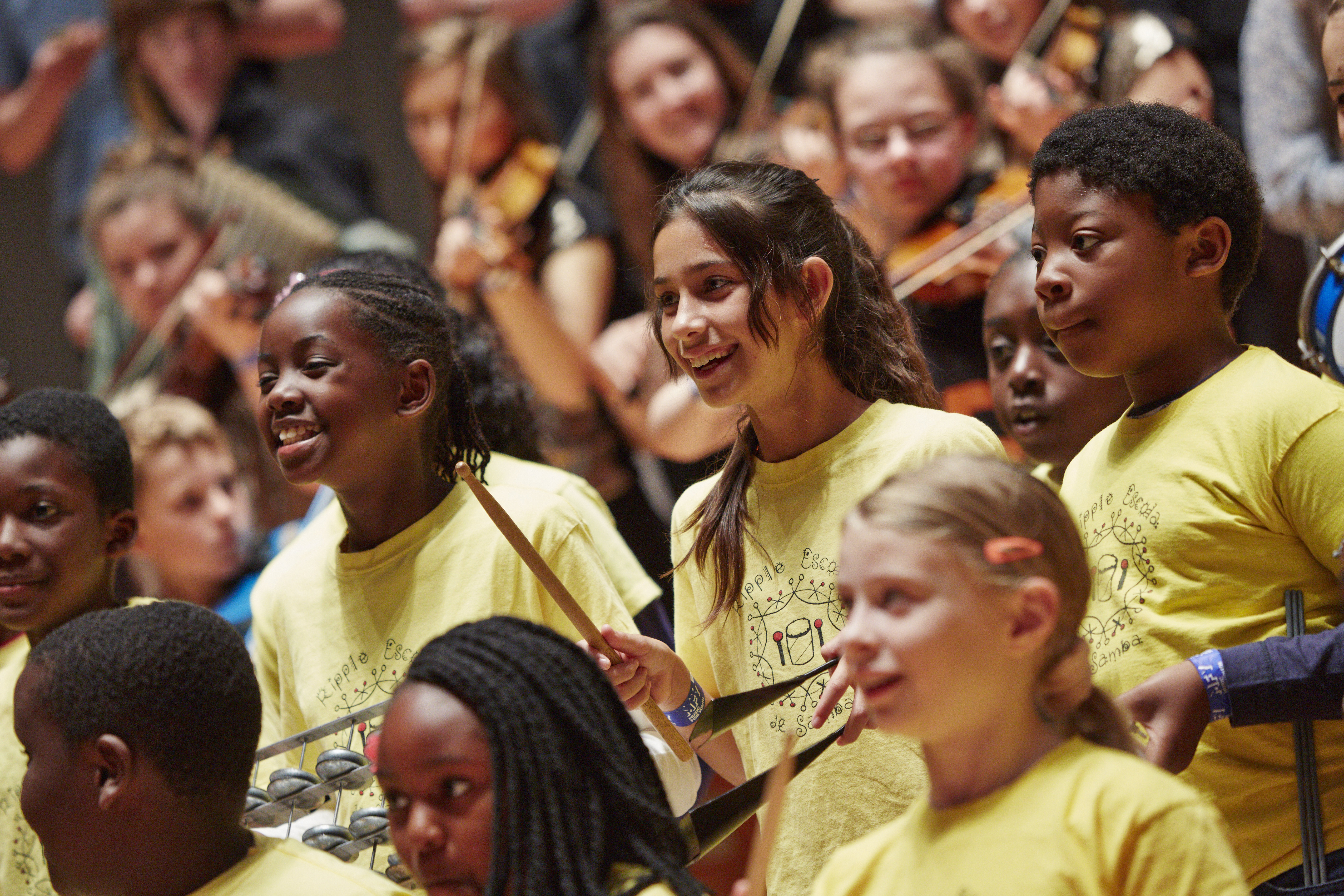 Music for Youth ensemble